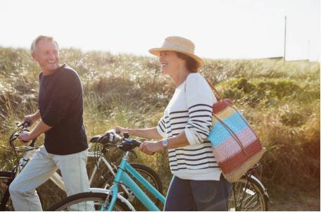 seniors promenade vélo
