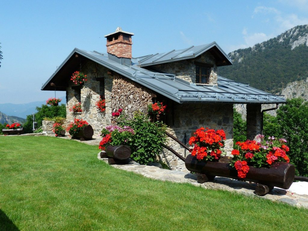 maison de campagne avec jardin